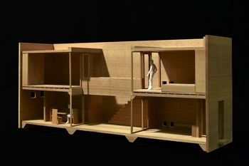 12:住吉の長屋 (大阪市) 模型.jpg