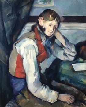 2.ポール・セザンヌ《赤いチョッキの少年》.jpg