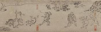 ⑯国宝 鳥獣人物戯画(甲巻)部分 後期ss.jpg