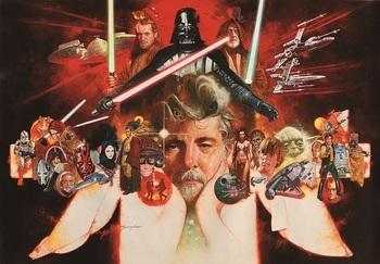 《George Lucas' World》Manuel Sanjulian s.jpg