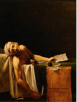 ジャック=ルイ・ダヴィット(および工房)<マラーの死>.jpg
