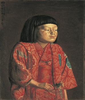 劉生《童女図(麗子立像)》1923年.jpg