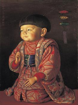 椿《菊子座像》1922年.jpg