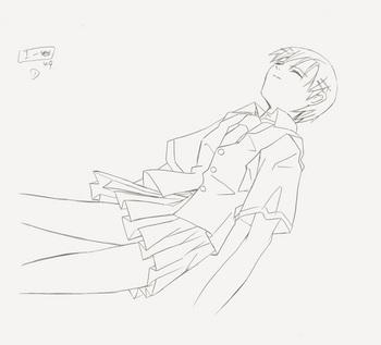 7「ほしのこえ」監督・新海誠による原画.jpg