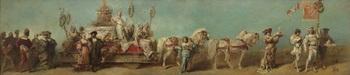 10.ハンス・マカルト《1879年の祝賀パレードのためのデザイン画―菓子製造組合》.jpg