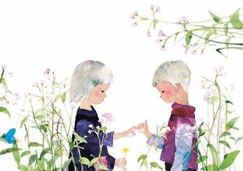 【5】ゆびきりをする子ども(1966年).jpg