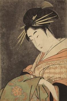9 喜多川歌麿《美人気量競 五明楼 花扇》1950.418.jpg